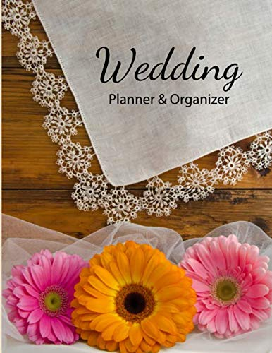 Wedding Planner & Organizer: Easy to use checklists, worksheets, charts and tools - Daisy Trio ()