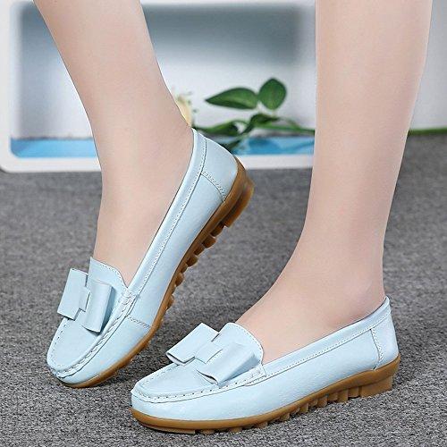singolo TPR autunno donna e Shoes piatto CN38 piatto scarpe laccio casual EU38 scarpe con primavera Cozy legare scarpe D il da Lvzaixi 5 UK5 scarpe B t8xqqzCwnH