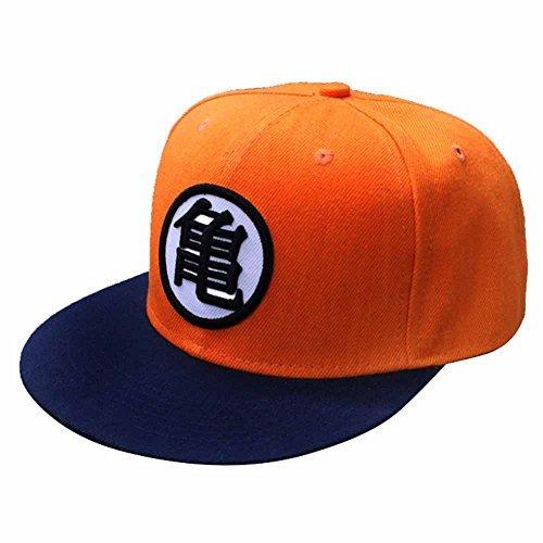 inDomit Adjustable Canvas Baseball Cap for Anime Dragonball Z Goku Fans or (Dragon Ball Z Goku Child Costume)