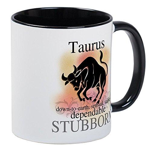 (CafePress - Taurus The Bull Mug - Unique Coffee Mug, Coffee Cup)