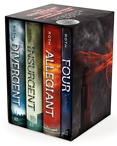 Divergent Series Ultimate Four Book Box Set  Divergent Insurgent Allegiant Four