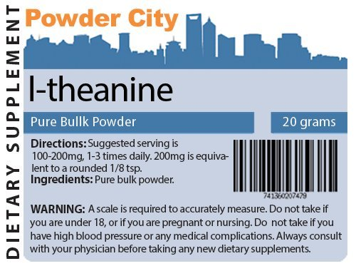 L-théanine (20 grammes)