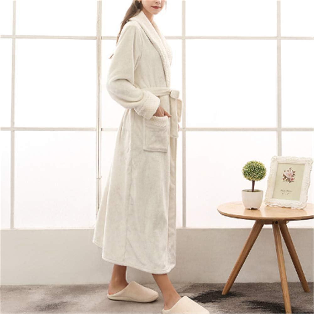 DUJUN Vestido Pijama Mujer Kimono Bata Albornoz Camisón,Gruesos ...