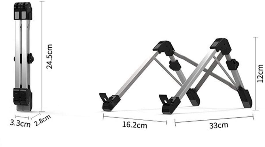 Caiuet Notebook Stand Desktop Multi-Function Folding Computer Lifting Base Rack Stands