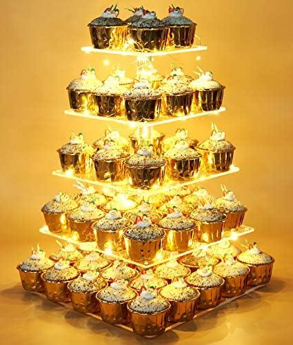 Vdomus Acrylic Cupcake Display Birthday product image