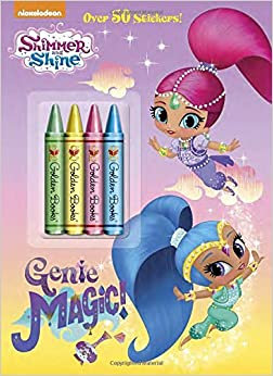 Genie Magic Shimmer And Shine Golden Books 9780553522051