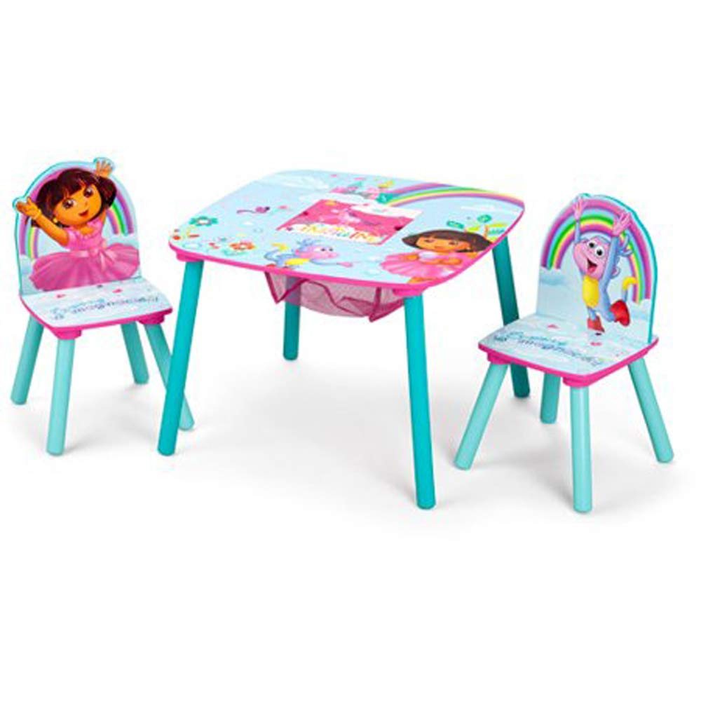 BBS Dora the Explorer Storage Table and Chairs Set