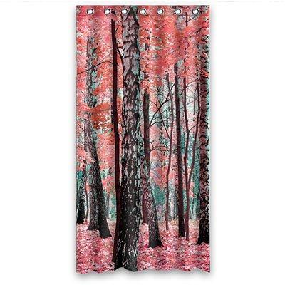 Personal Custom árboles de abedul Cartoon Disfraz cortina de la ...