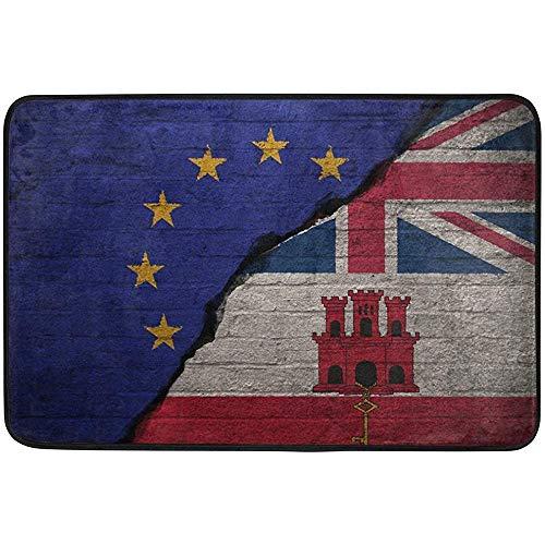 UK British Flag Non-Slip Door Mat Home Decor by, Welcome Mat Durable Indoor Outdoor Entrance Doormat 23.6 X 15.7 Inches (Surface Patio Uk Ideas)