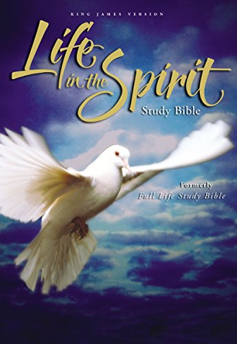 KJV, Life in the Spirit Study Bible, Hardcover, Red Letter Edition