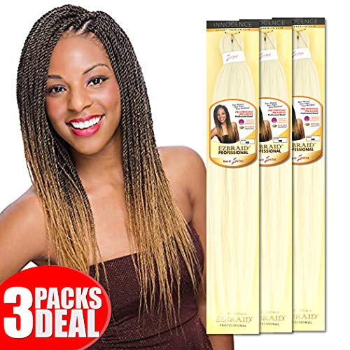 Braid Platinum - [MULTI PACKS DEAL] Innocence Synthetic Pre-Stretched ORIGINAL EZ BRAID 26