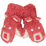 Animal World - Pink Bear Juvy Fuzzy Fleece Mittens - Large Pink