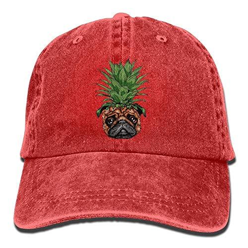 Sport Men Cap for Hats DEFFWB Pineapple Denim Hat Cowgirl Women Skull Cowboy Pug q18TaxpwP