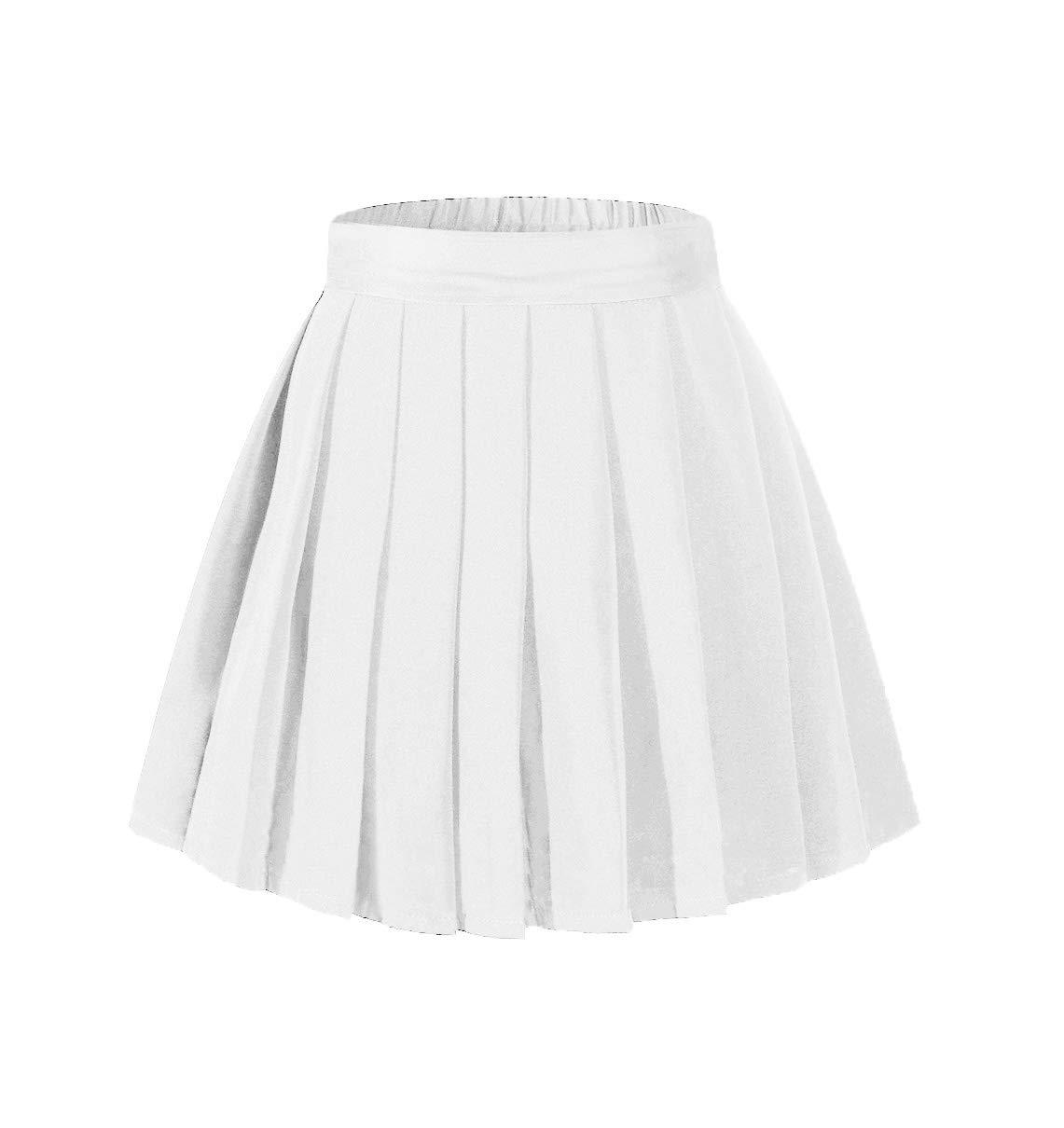 Beautifulfashionlife Women's High Waist Pleated Nurse Roleplay Suit Costumes White,XL by Beautifulfashionlife