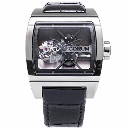 Corum Ti Bridge Tourbillon swiss-automatic mens Watch 022.700.04/0F01 (Certified Pre-owned)