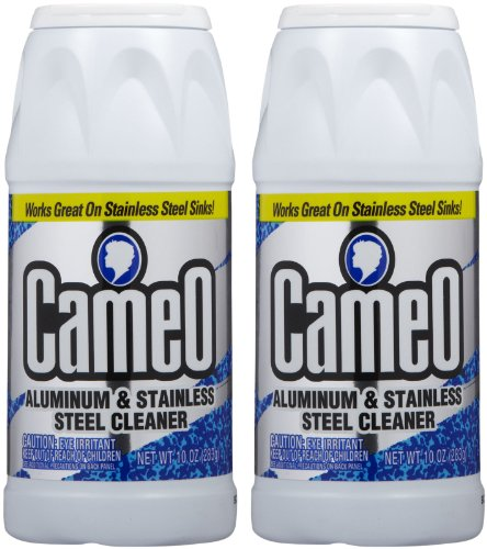 Cameo Aluminum & Stainless Steel Cleaner - 10 oz - 2 pk - Stainless Steel Sink Cleaner