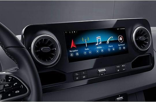 Taffio 10 25 Touchscreen Android Gps Navigation Bluetooth Kompatibel Mit Mercedes Sprinter W907