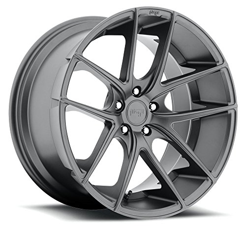 - 20x8.5 Niche Wheels TARGA 5x114.3 35 Offset 72.6 Centerbore/Hub - Matte Gunmetal [Authorized Dealer] M129208565+35