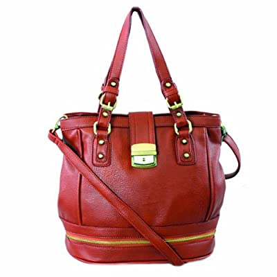 61271 Nila Anthony Bucket style tote back (Red)