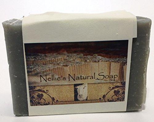 (Nellie's Natural Soap Goat's Milk Soap - Cold Bar (Eucalyptus/Peppermint/Cajeput) - 3 bars)