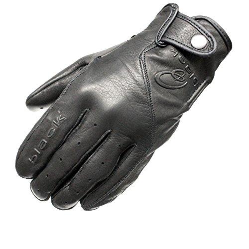 HAWK Summer Premium Leather Motorcycle Motorbike Gloves Cow Hide Leather Short 1 YEAR WARRANTY!!!