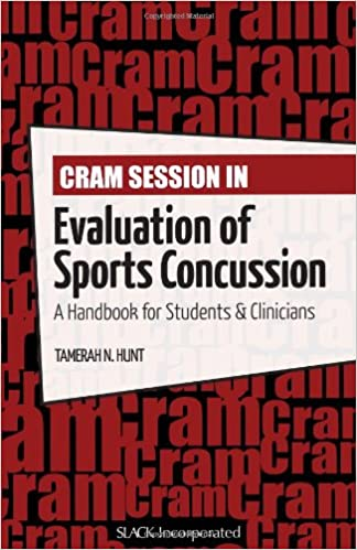 Scarica libri su Internet gratis Cram Session in Evaluation of Sports Concussion: A Handbook for Students & Clinicians (Cram Session in Physical Therapy Series) PDF