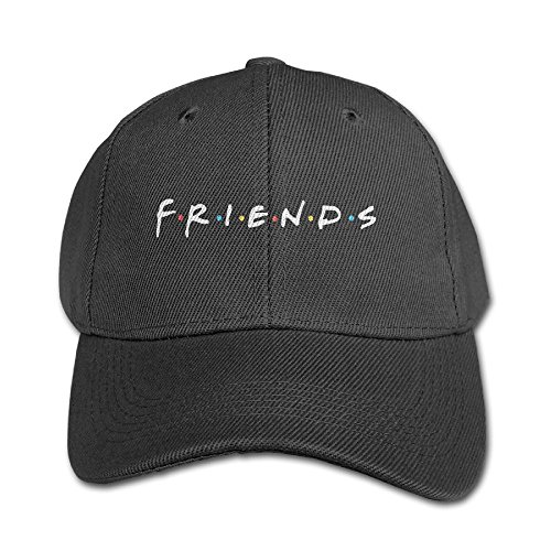 Mollie Storey Friends TV Show Travel Snapback Hat Twill Cap For Kids Black by Mollie Storey (Image #1)
