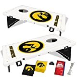 Baggo 1545 University of Iowa Hawkeyes Complete Baggo Bean Bag Toss Game