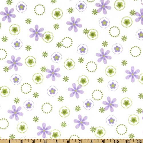 - Robert Kaufman DK-323 Cozy Cotton Flannel Floral Spring Fabric by the Yard