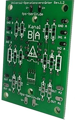 6 x placa universal de amplificador Operacional: Amazon.es: Industria, empresas y ciencia