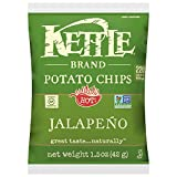 Kettle Brand Potato Chips, Jalapeno, 1.5-Ounce Bags (Pack of 64)