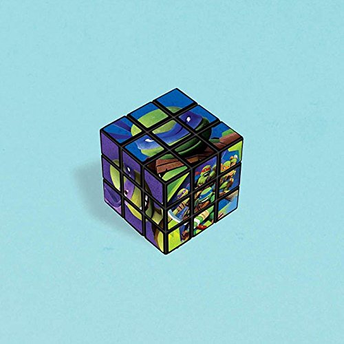Group For Teenage Girls Ideas Halloween Costume (Amscan Awesome TMNT Puzzle Cube, 1-1/8 x 1-1/8 x 1-1/8