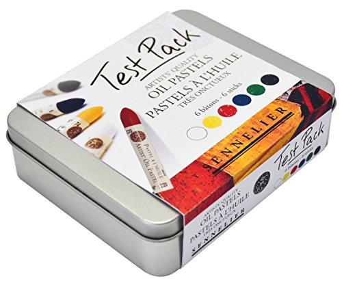 Sennelier Artist Quality Oil Pastels Test Pack - Set of 6