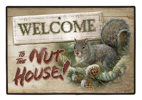 Elbow Nut (Fiddler's Elbow FED1061 Welcome to the Nut House Doormat)