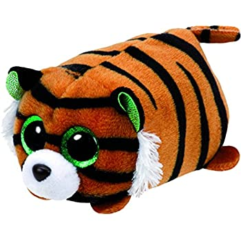 Tiggy Tiger - Teeny Tys 4 inch - Stuffed Animal by Ty (42137) by Ty Beanies