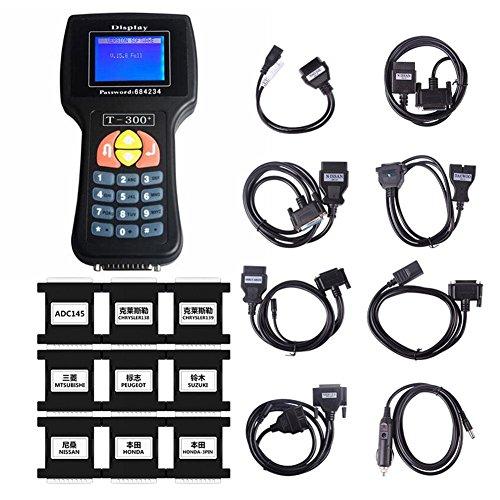 ZHUOTOP Auto Car Programmer Transponder Diagnostic Scanner Service Tool T300 V16.8