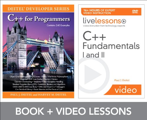 C++ Fundamentals I and II LiveLesson Bundle by Brand: Prentice Hall