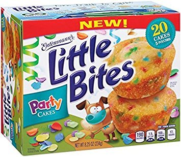Entenmann's Little Bites Party Cakes (3 boxes) by Entenmann's Little Bites