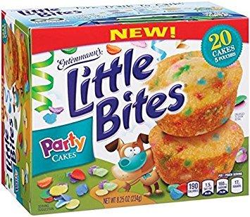 Entenmann's Little Bites Party Cakes (3 boxes) (Party Cakes)
