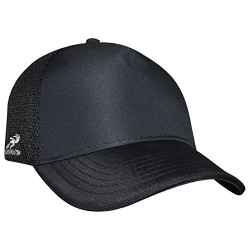 Headsweats Trucker Black Eventure 5-Panel Hat, Black, One Size