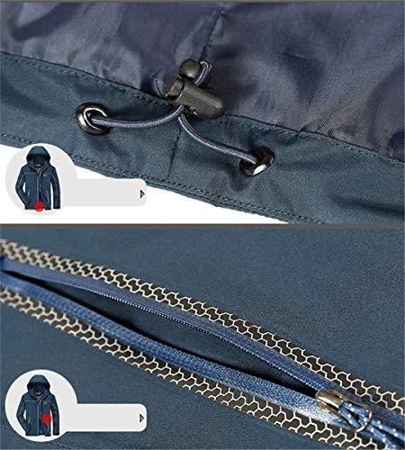 Chaquetas Abrigos Blue Ocio Dark Karmder Chaqueta Primavera Impermeable Hombre De Ropa Otoño Y Y6Z0Ug