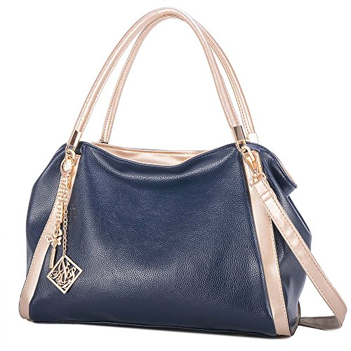 Women's Fashion Shoulder Bags Women's Leather Bag Wallet PU Leather Handbag Elegant High-end Design Handbag by WaHe