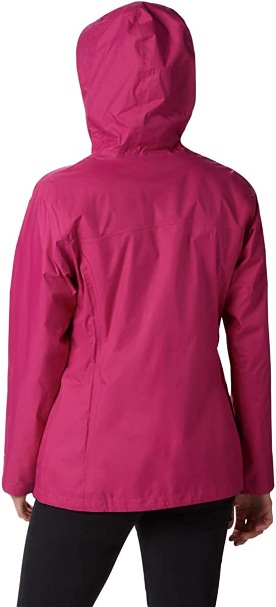 Columbia Womens Arcadia Ii Waterproof Breathable Jacket With Packable Hood