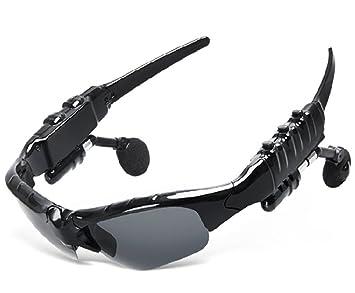 Lunettes Bluetooth avec casque sans fil Sports de plein air Lunettes de soleil  Lunettes de soleil eb02eb410157