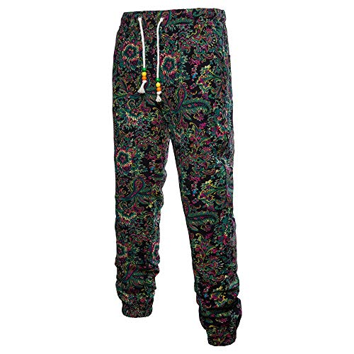 - TnaIolral Men Trouser Harem Sweatpants Slacks Casual Jogger Sportwear Baggy Comfy Pants
