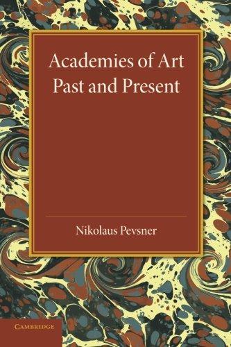Academies of Art: Past and Present