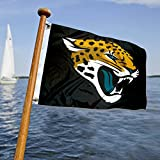 WinCraft Jacksonville Jaguars Boat and Golf Cart Flag