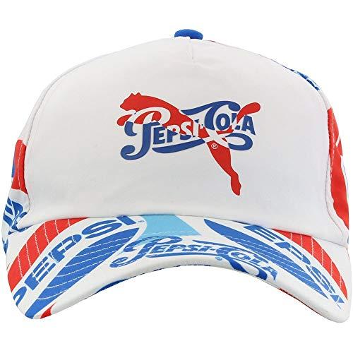 PUMA Mens Pepsi Baseball Cap Casual Hats Baseball, Blue;White, OSFA