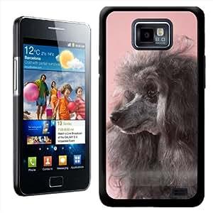 Fancy A Snuggle - Carcasa para Samsung Galaxy S2 i9100, diseño de perro caniche