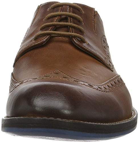 Clarks Prangley Limit, Brogues Homme, Noir, 40 EU Marron (British Tan)